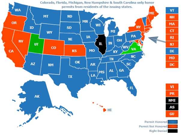 Cfp License Requirements By State